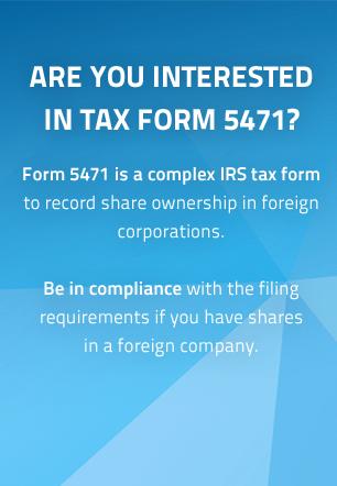 IRS form 5471